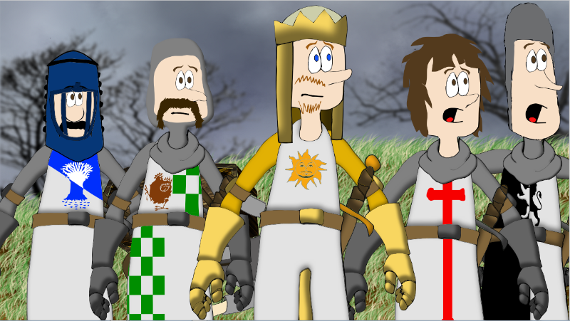 Jade Arcade - Monty Python Holy Grail cartoon